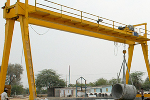 Double Girder EOT Goliath Cranes